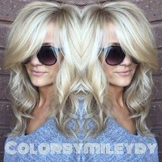 Hair Color Trends 2017/ 2018 Highlights : Blondes what can I say. Love Them comes easy to me !! She has a balayage / plus