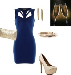 """""""New Year's Eve outfit"""" by nadja2003 on Polyvore"""