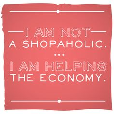 #bemantra Shopaholic !