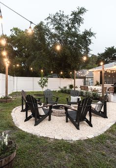 Backyard Makeover Reveal: Riverside Retreat Backyard Makeover R. - Backyard Makeover Reveal: Riverside Retreat Backyard Makeover Reveal: Riverside Re - Backyard Patio Designs, Backyard Seating, Backyard Retreat, Landscaping Design, Fire Pit Landscaping Ideas, Oasis Backyard, Outdoor Deck Decorating, Patio Decorating Ideas On A Budget, Backyard Decorations
