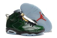 "newest 89870 51ce0 Air Jordans 6 Retro ""Champagne Bottle"" Pro Green Metallic Gold-Chilling  Red-Black Super Deals JDRFKG, Price   96.00 - Reebok Shoes,Reebok  Classic,Reebok ..."
