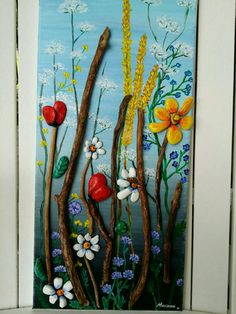 Decoration wall 3d. Nature art. Pierre roche by MariArtCreation