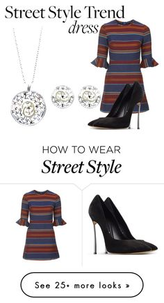 """Street style trend"" by teemtry on Polyvore featuring Topshop and Casadei"