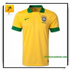 Brazil Home Yellow 2013 2014 Beckham Soccer Jersey Number Beckham Soccer 2495f7624
