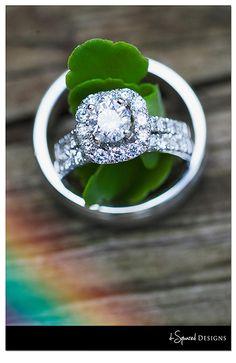 Ring shot. d-Squared Designs Missouri Wedding Photography