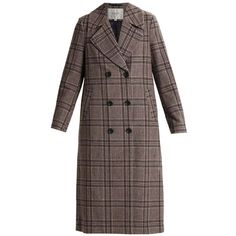 Selected Femme SFFAYE Classic coat (£195) ❤ liked on Polyvore featuring outerwear, coats, select coats and brown coat