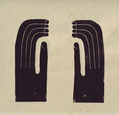 linocut print by nicolasvous, Nicholas Burrowns