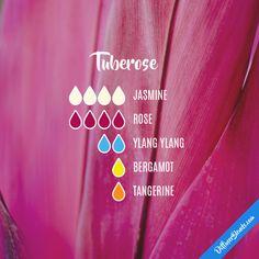 Tuberose - Essential Oil Diffuser Blend