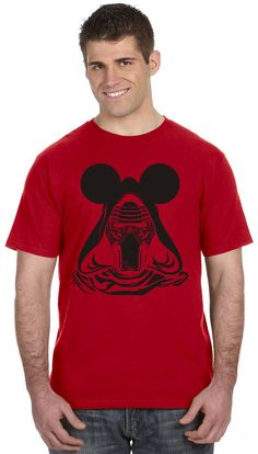 Star Wars Sith Shirt - Kylo Ren with Mickey Ears - Disney Family Vacation Shirts - Reunion, Teams, or Just for Fun!
