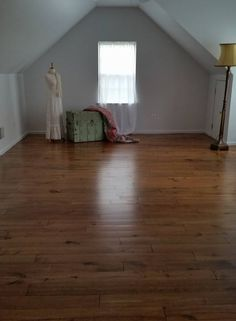 Minwax products used on unfinished pine flooring. Conditioner for even staining on soft pine, Stain in Provencial finished with the fabulous Super Fast Drying Poly, 2 coats. Love this floor. .