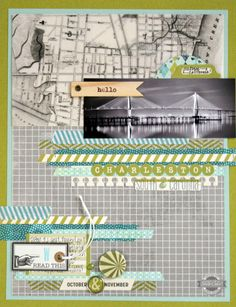 Hello Charleston {Studio Calico: July Kit} - Scrapbook.com