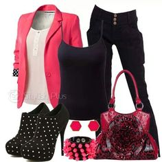 I only like the clothes, those shoes, purse and accesories not my style.