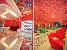 I don't know if I would have my salon like this, but it is amazing!