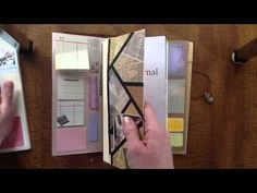 Midori Traveler's Notebook - Putting All Of That Stuff In There!