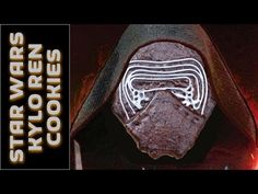 How to make Star Wars Cookies - Kylo Ren Cookies - YouTube