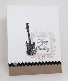 masculine birthday (would be nice in blue and green or red and black)