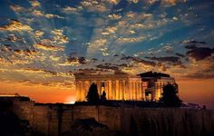 greek-highlights: Parthenon… the temple of Athena on the Acropolis in Athens. Corfu Greece, Athens Greece, Costa, Athens Acropolis, Fancy Houses, Heaven On Earth, Beach Trip, Beautiful Images, Worlds Largest