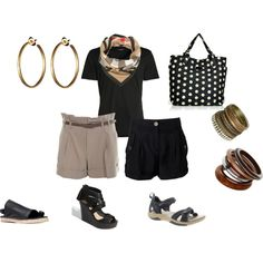 """""""summer vacation maine beaches packing"""" by itsanoutfit on Polyvore"""