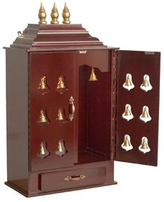 Puja Room Design Home Mandir Lamps Doors Vastu Idols Placement