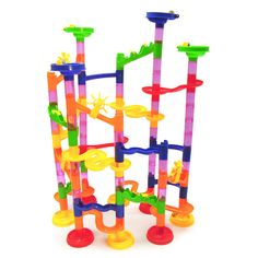 105pcs BOHS Marble Run on Labyrinth Track Game Model Building Toy
