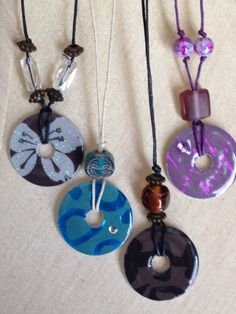 Washer Necklace by HoldensDesigns on Etsy, $10.00