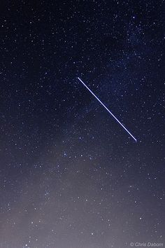 ISS through the Milky Way - 11th August 2013 | by cidaborn