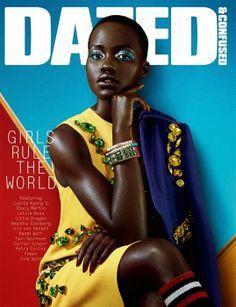 Lupita Nyong'o Bikini | Lupita Nyong'o features on the cover of Dazed and Confused February ...