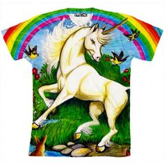 This shirt is amaizing it's so beautiful with a unicorn!!!!!!