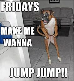"""IT'S  """" TGIF """" HOPE ALL IS WELL / AND HAVE A GREAT WEEKEND =)   THX Ester! :  https://www.youtube.com/watch?v=wlq0lYB3iSM"""