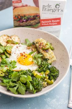 Spring Greens Breakfast Bowls: These bright fresh breakfast bowls are a filling and healthy way to start the day. Mix and match veggies to your liking! Simply Recipes, Egg Recipes, Brunch Recipes, Easy Dinner Recipes, Breakfast Recipes, Easy Meals, Cooking Recipes, Healthy Recipes, Cream Recipes