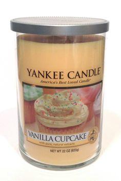 Yankee Candle Large Tumbler 2 Wick Vanilla Cupcake