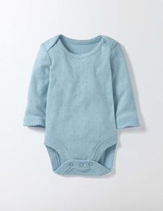 Baby Boden Supersoft Pointelle Body
