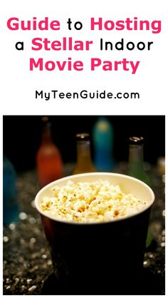 Invite your squad over for a girl's night in with our guide to throwing the ultimate indoor movie party! Check it out!
