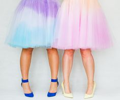 Or dip-dye a skirt. | 25 DIY Projects That Will Fill You With Joy