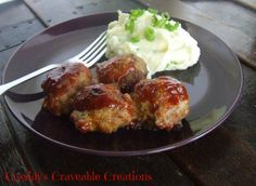 Grain Free Comfort Meatballs With Mock Mashed Potatoes