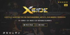 Download and review of XSide - Responsive Photography Theme, one of the best Themeforest Creatives themes {Download & review at Review and download at} { -> }http://best-wordpress-theme.net/xside-responsive-photography-download-review/