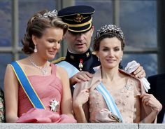 Príncipe Felipe y la princesa Letizia de España
