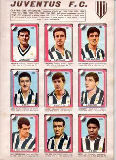 CALCIATORI LAMPO - Lampo 1963 Juventus Fc, Turin, Football Team, Athlete, Baseball Cards, Happy, Hs Sports, Soccer, Trading Cards