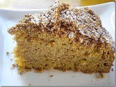 Overnight cinnamon coffee cake.