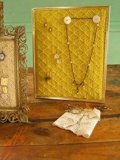 Jewelry lace pattern