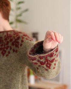 Ravelry: Florarium Sweater pattern by Teti Lutsak Crochet Yarn, Crochet Hooks, Sweater Knitting Patterns, Knitting Sweaters, Lang Yarns, Cascade Yarn, Paintbox Yarn, Yarn Brands, Dog Sweaters