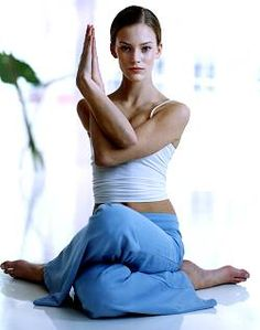 Try yoga for good health and fit life.