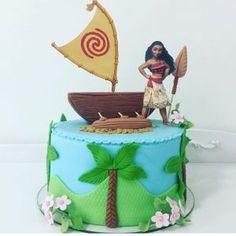 Pastel-para-fiesta-de-moana (22) - Decoracion de Fiestas Cumpleaños Bodas, Baby shower, Bautizo, Despedidas