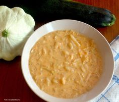 Cukkini-csillagtökfőzelék – Receptletöltés Ethnic Recipes, Food, Eten, Meals, Diet