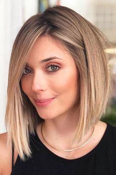 Medium Hairstyles for Fine Hair - hair styles for short hair Medium Hair Cuts, Short Hair Cuts, Medium Hair Styles, Curly Hair Styles, Haircut Medium, Haircut Short, Haircut Styles, Short Hair Styles Thin, Hair Styles For Women Over 50