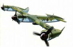 Projected Blohm & Voss BV -170 fighter bomber.
