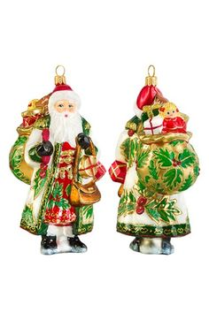 Joy to the World Collectibles Metzler Brothers Budapest Santa Ornament available at #Nordstrom