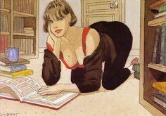 Books and Art Bd Art, Character Art, Character Design, Mädchen In Bikinis, Bd Comics, Art Et Illustration, Art Graphique, Pulp Art, Comic Artist