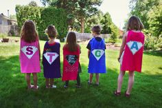 Super Hero Training Camp and Make Your Own Capes Batman Party, Superhero Birthday Party, 5th Birthday, Birthday Ideas, Birthday Parties, Super Hero Training, Preschool Summer Camp, Summer Camps, Hero Girl