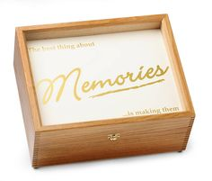 Gold Memory Box